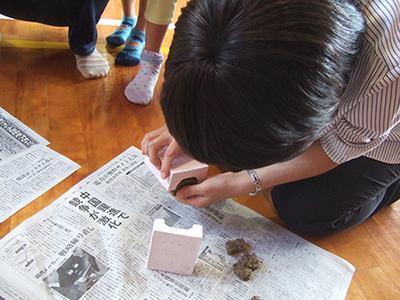 砂ねんど,砂,ねんど,粘土細工,工作,鳥取砂丘,土産,モアイ