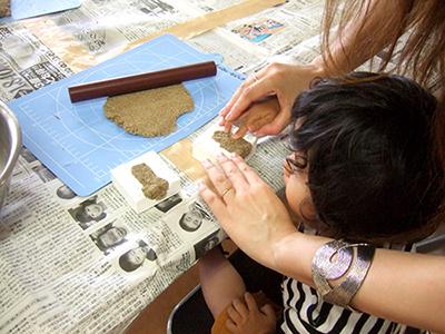 砂,鳥取砂丘,土産,モアイ,砂ねんど,ワークショップ