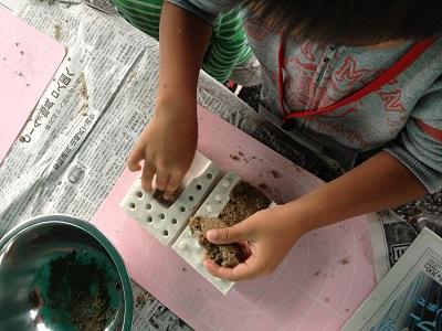 砂ねんど,砂,鳥取砂丘,鳥取,教材,砂粘土